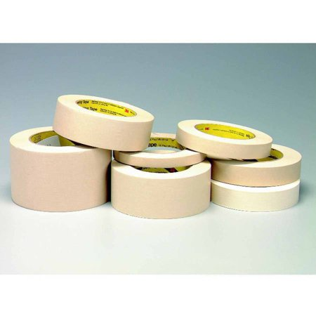 "Scotch 232 High Performance Pressure Sensitive Self-Adhesive Masking Tape with 3"" Core, 3"" x 2160"", Tan"