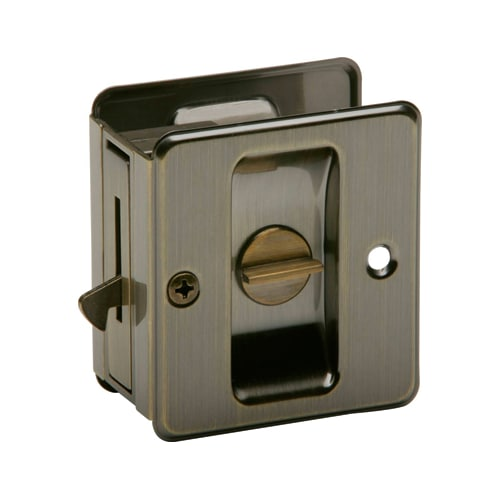 Schlage 991 Ives Solid Brass Privacy Pocket Door Lock