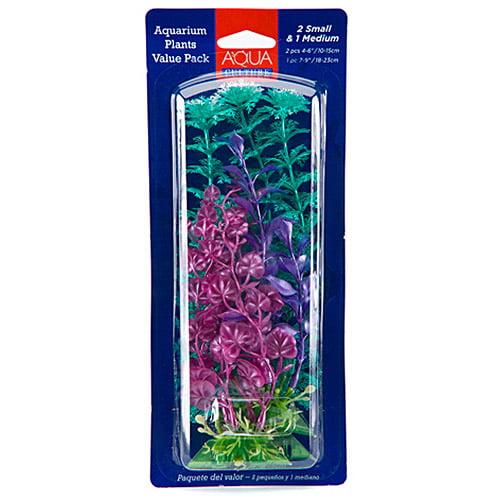 Aqua Culture Aquarium Plants Value Pack, 3 count