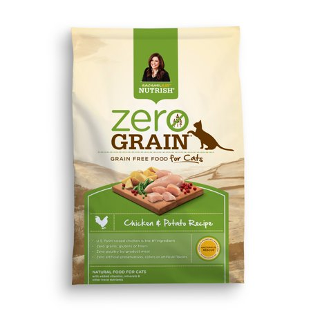 Rachael Ray Nutrish Zero Grain Natural Dry Cat Food, Chicken