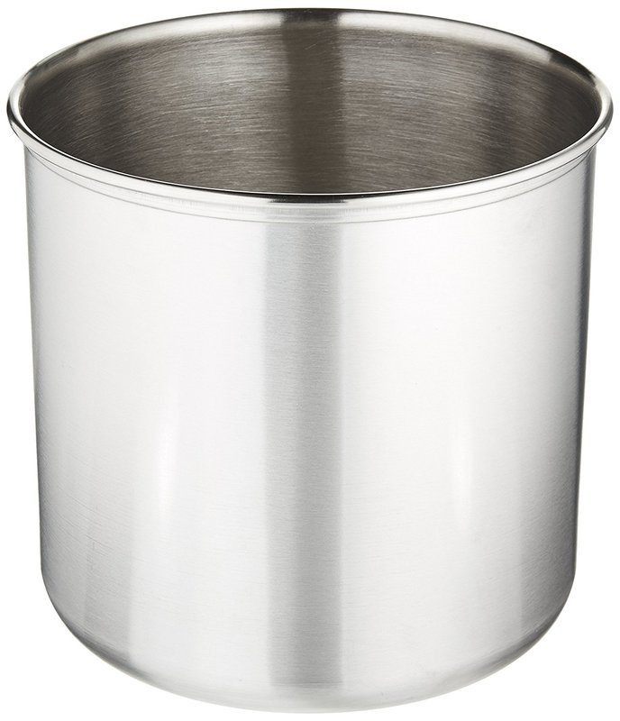 Estilo Stainless Steel Utensil Holder, Jumbo   7 X 7 Inches