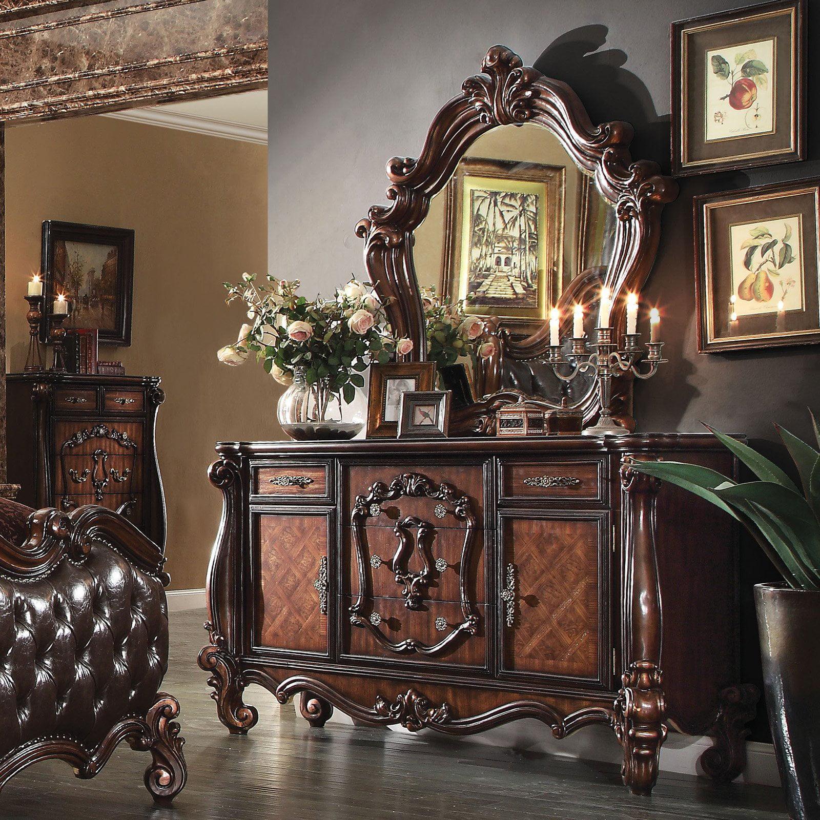 Acme Furniture Versailles 5 Drawer Dresser with Optional Mirror