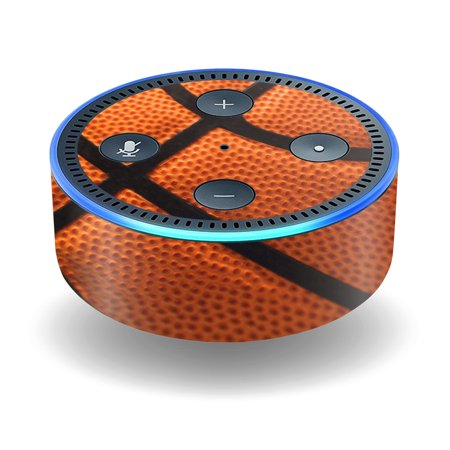 Skin Decal Wrap For Amazon Echo Dot  2Nd Generation  Stickers Basketball
