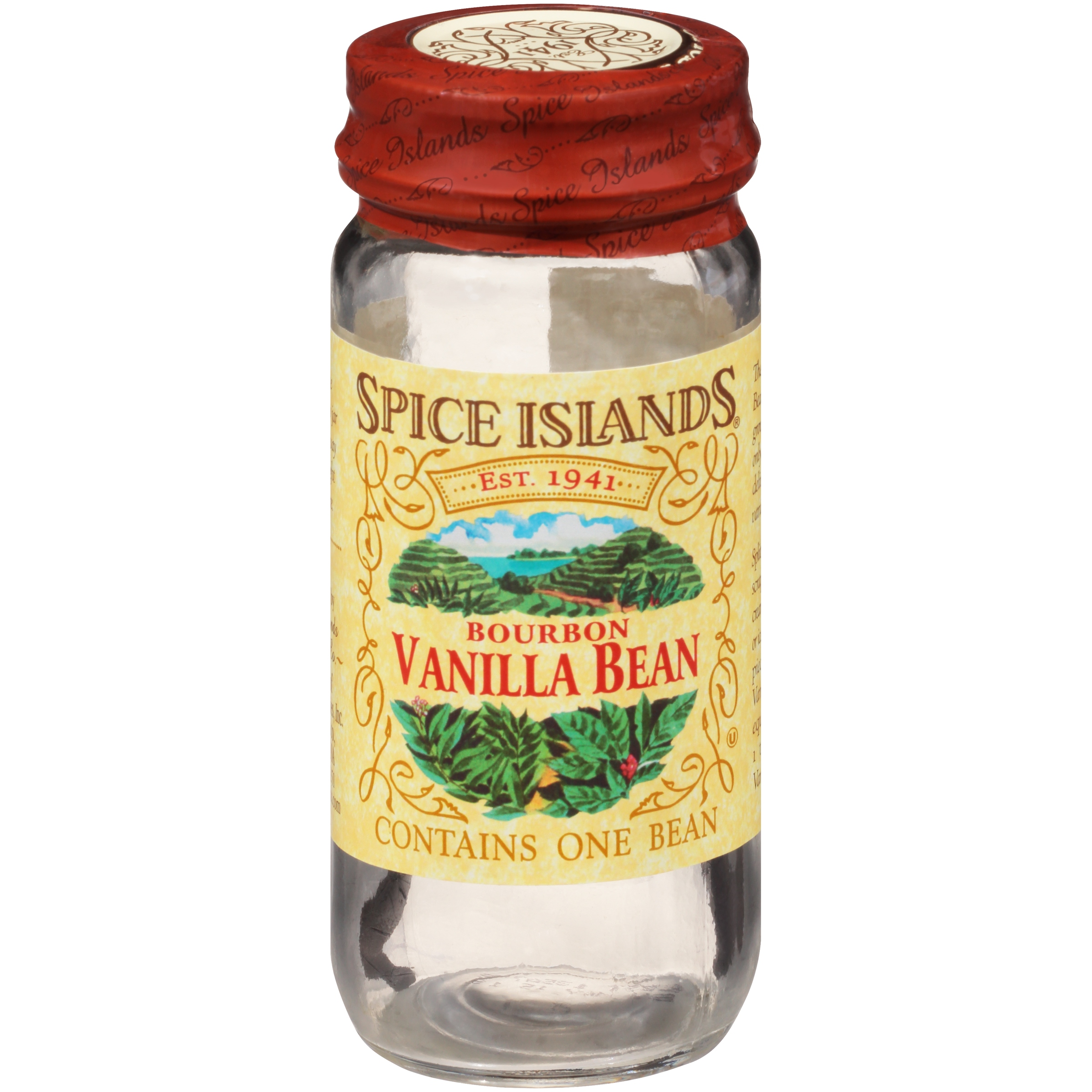 Spice Islands® Bourbon Vanilla Bean 1 ct Jar