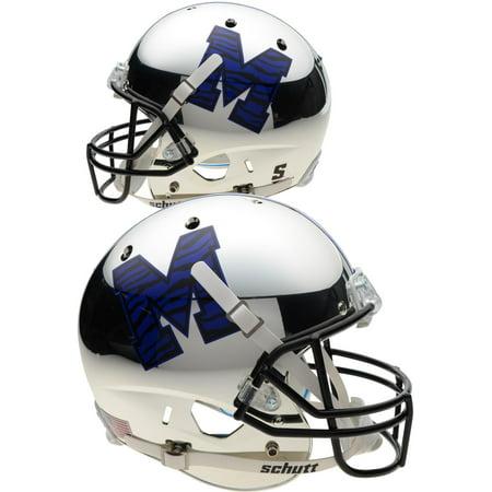 Memphis Tigers Schutt Chrome Replica Football Helmet