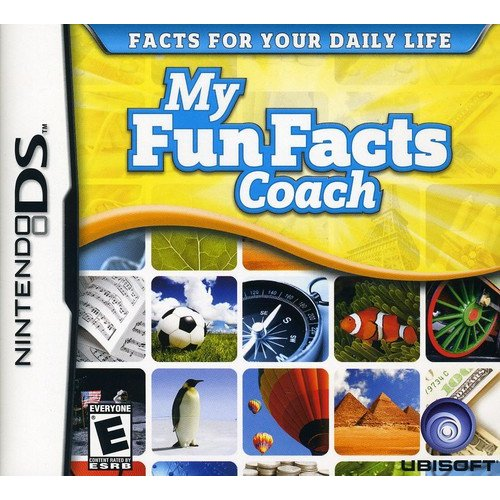 My Fun Facts Coach, Ubisoft, Nintendo DS, 008888164654