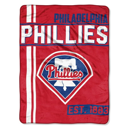 "MLB Philadelphia Phillies ""Walk Off"" 46""x 60"" Micro Raschel Throw](Mlb Shop Nyc)"