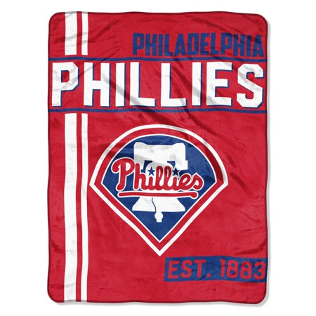 "MLB Philadelphia Phillies ""Walk Off"" 46""x 60"" Micro Raschel -"