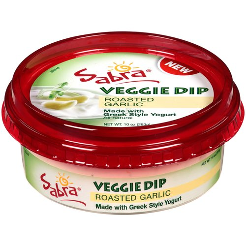Sabra Roasted Garlic Veggie Dip 10 oz. Tub