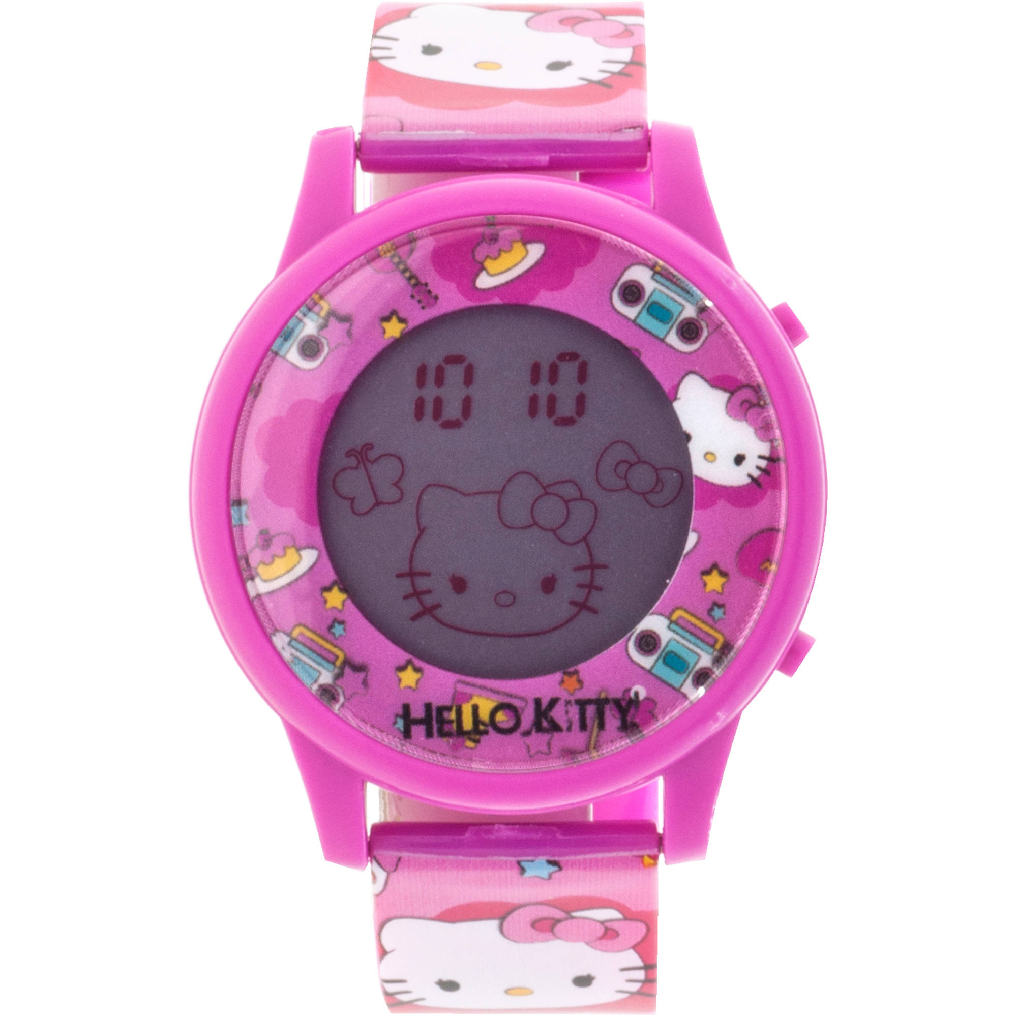 Hello Kitty Girls LCD Animation Watch