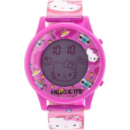 Girls LCD Animation Watch