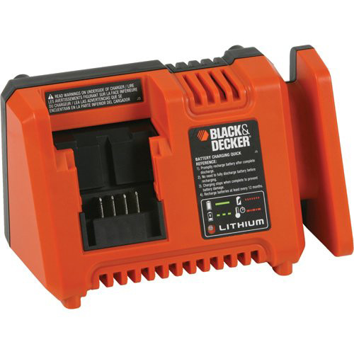 Black & Decker 20V MAX Lithium Ion Fast Charger