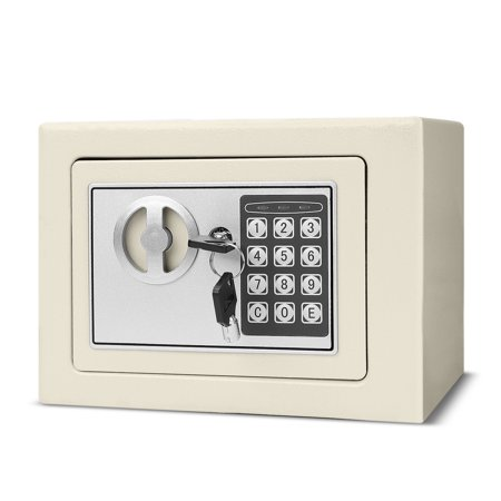 Electronic Depository Safe Box with Drop Slot Posting Opening - Digital Keypad Combination Lock Security Cabinet For Home Office Money Documents Gun Cash Deposit Hotel (9