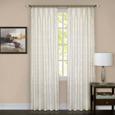 Achim Windsor Pinch Pleat Window Curtain -