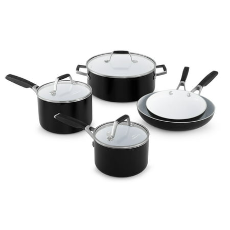 Select by Calphalon Ceramic Nonstick 8 Piece Cookware Set
