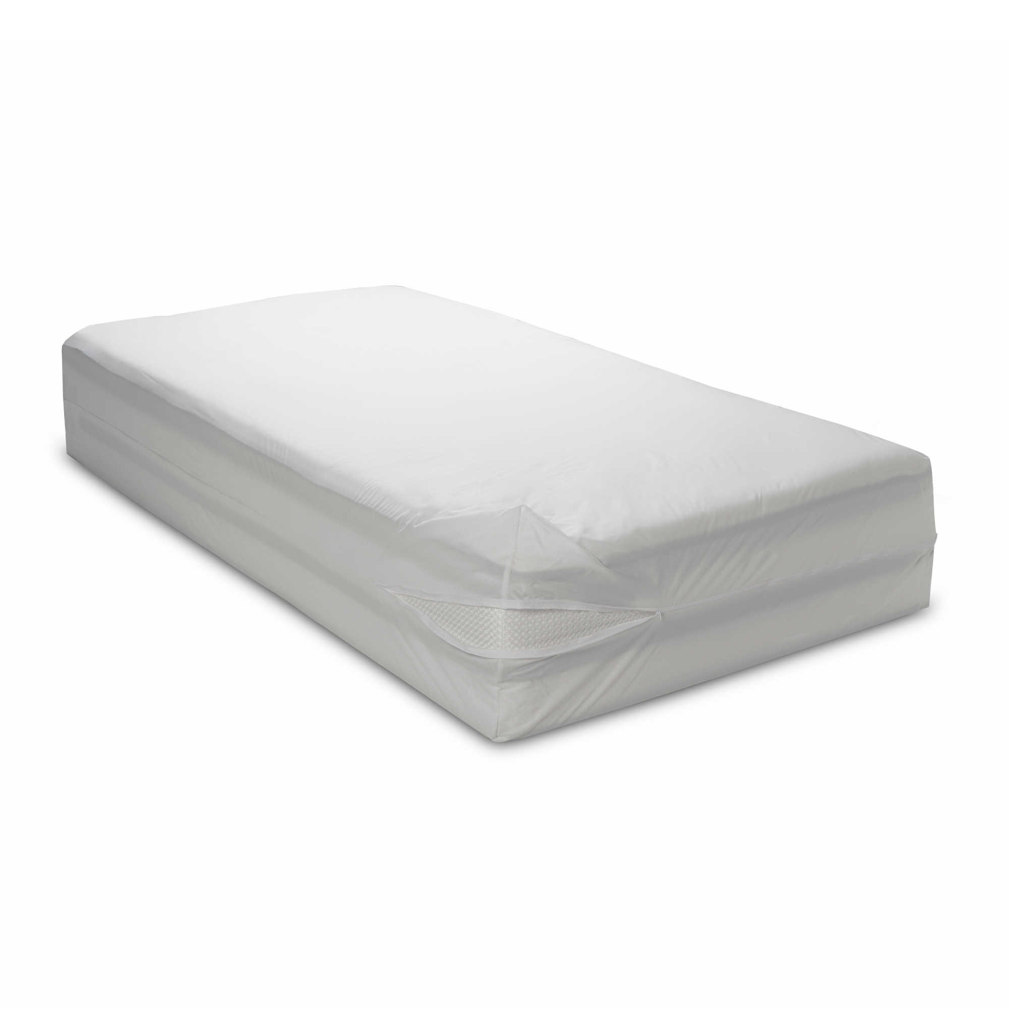Water Resistant Washable 16 Bed Bug Blocker Zippered Mattress Cover