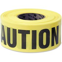 Great Neck Yellow Caution Tape, Yellow