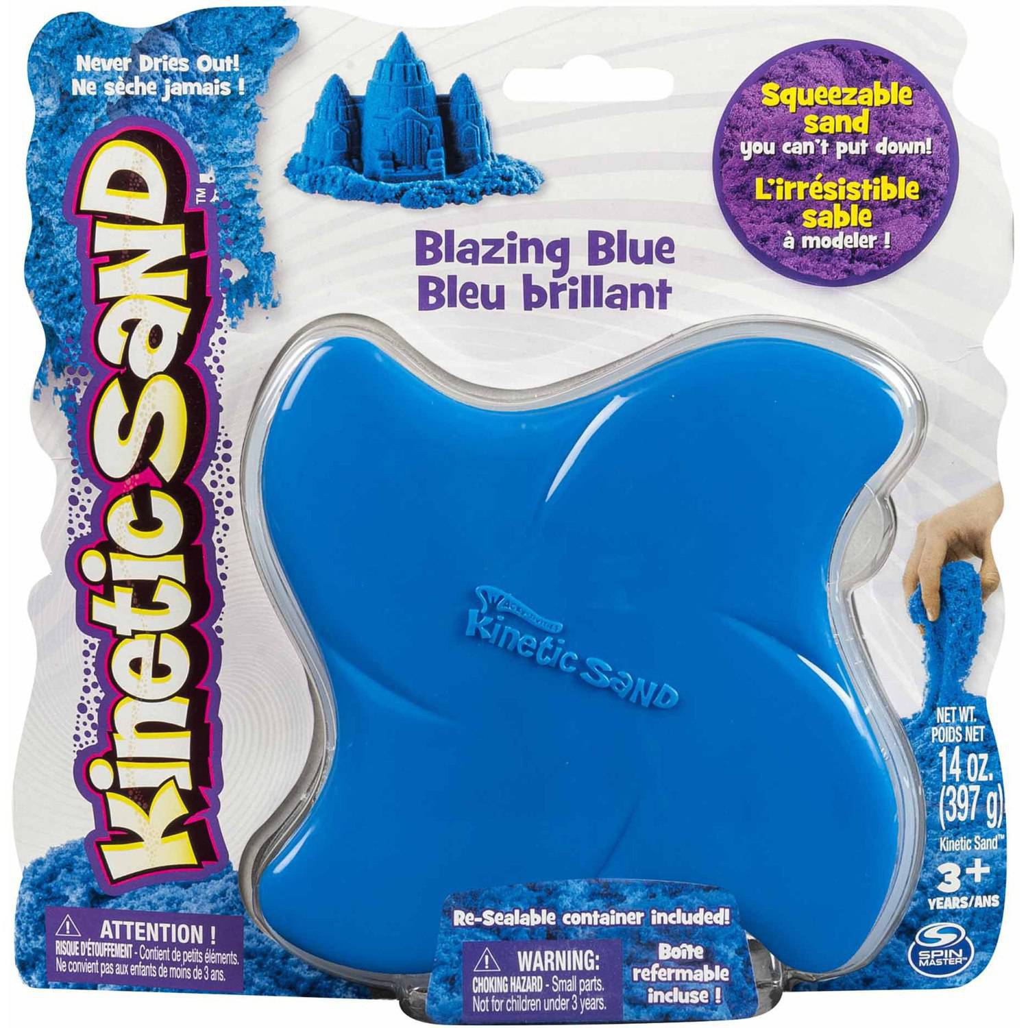 Kinetic Sand, 14 oz Blazing Blue