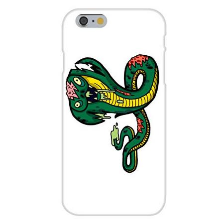 Zombie Snake (Apple iPhone 6+ (Plus) Custom Case White Plastic Snap On -