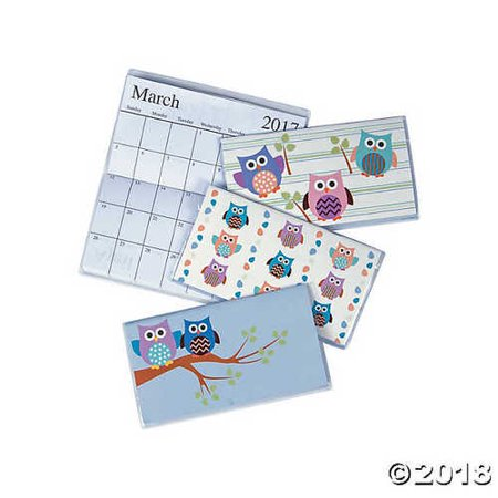 2017 - 2018 Owl Pocket - Owl Calendar