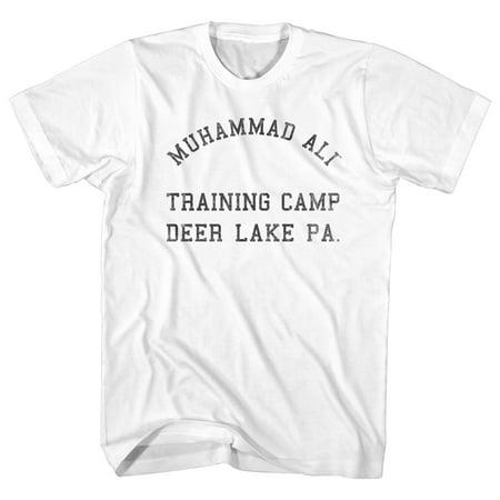 Muhammad Ali 60S Training Camp Deer Lake Pa Adult American Classics T Shirt Tee