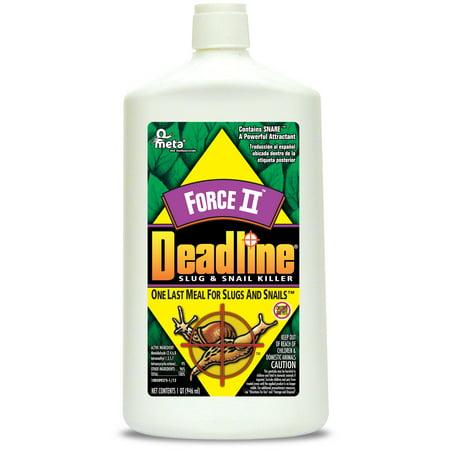 Deadline Ready-to-Use Liquid Slug and Snail Killer, 32