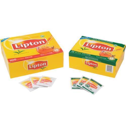Lipton Decaffeinated Tea Bags Case Of 432
