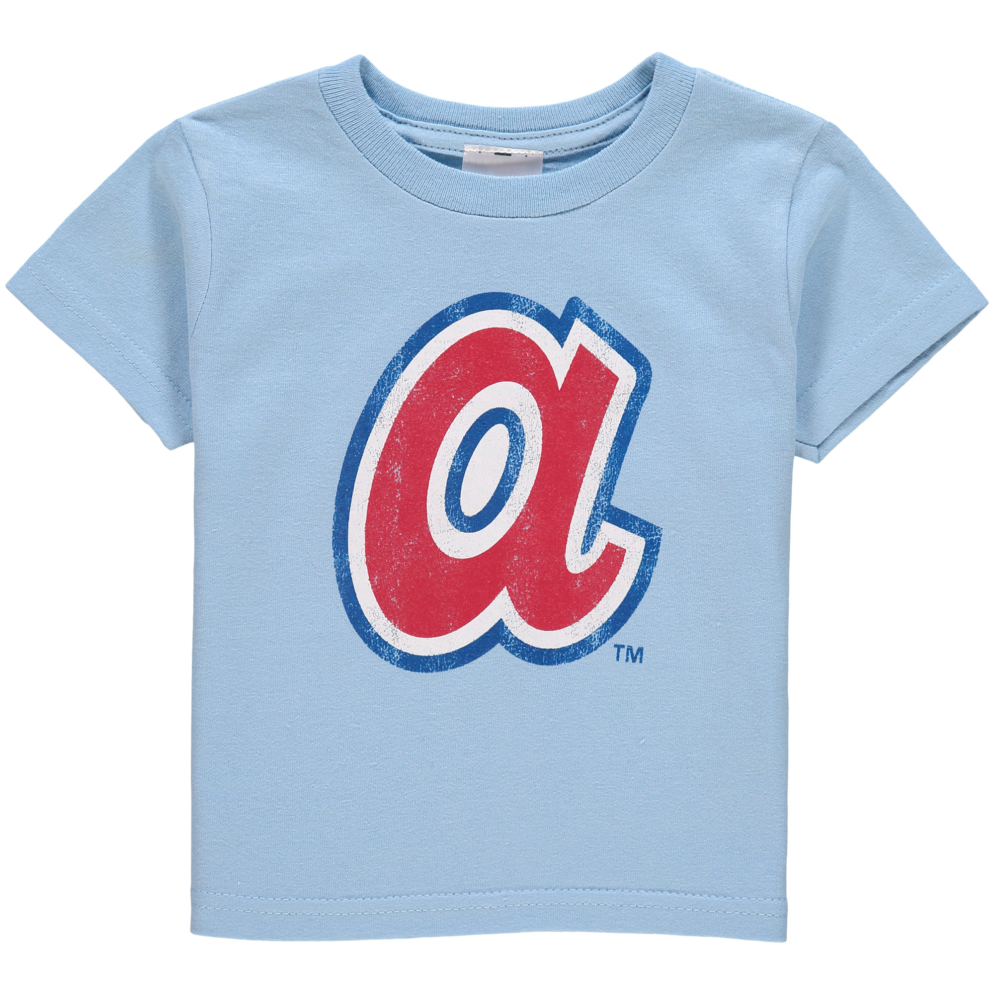 Atlanta Braves Soft As A Grape Toddler Cooperstown Collection Shutout T-Shirt - Light Blue