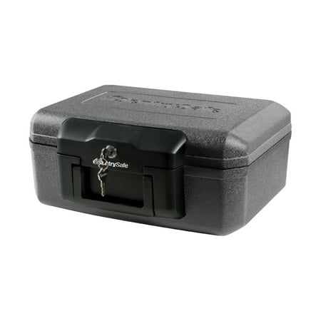 SentrySafe 1200 Fire-Resistant Box with Key Lock 0.18 cu