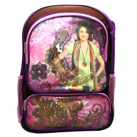 Disney's Wizards of Waverly Place Artsy Pink/Violet Full Size Backpack (16in) ()