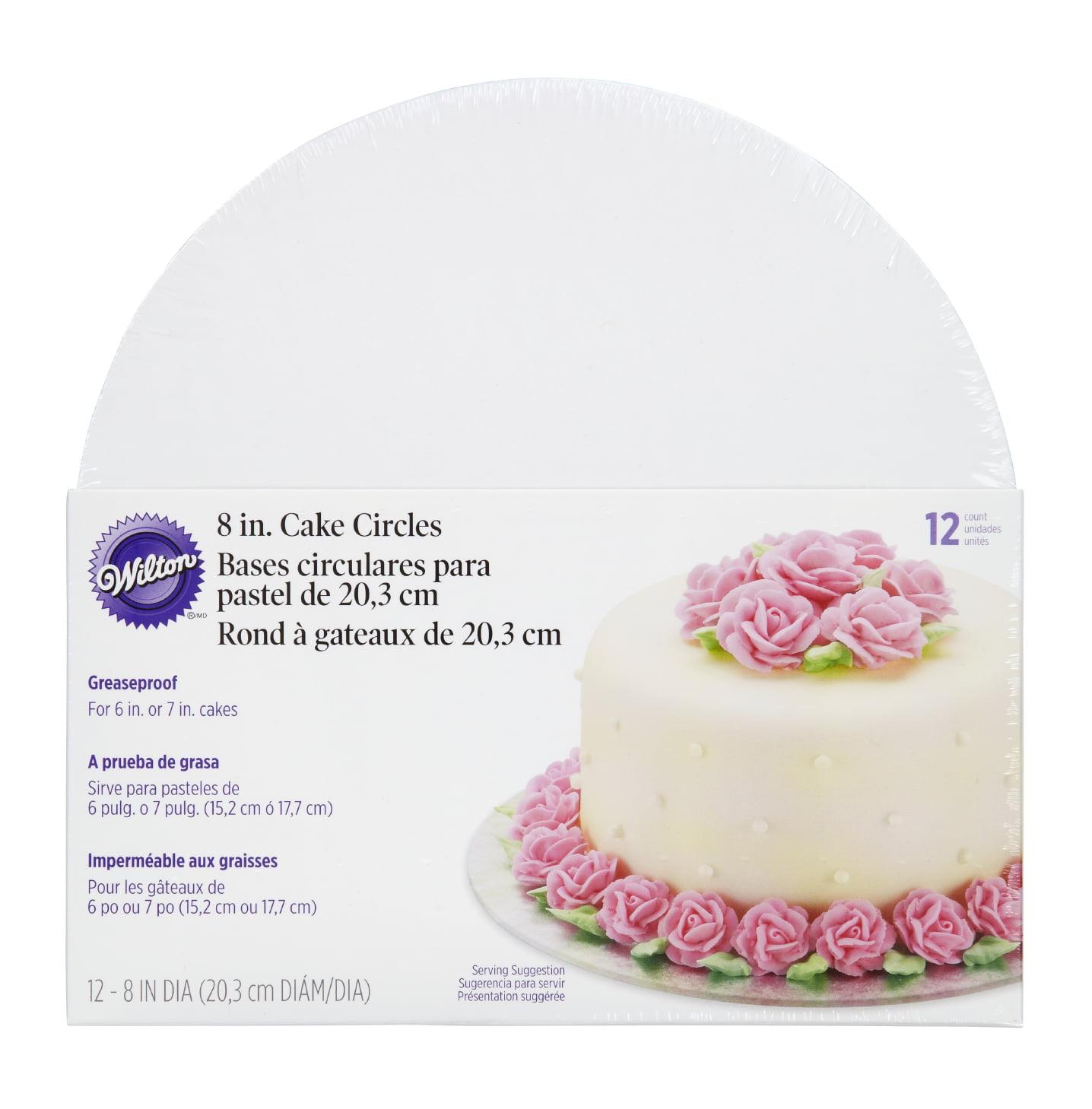 Wilton Cake Circle, 8 inch, 12 pack