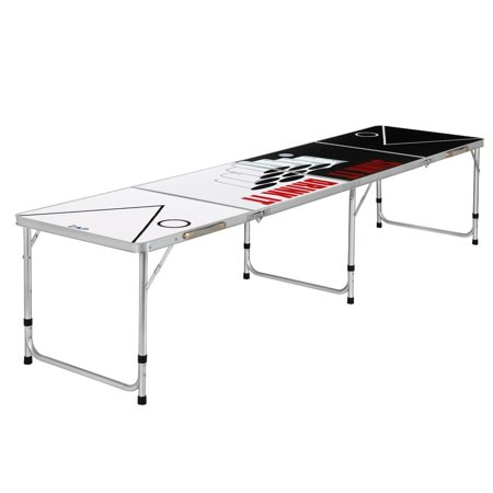 Zaap 8ft Tournament Size Folding Beer Pong/Picnic/Camping Table-Sink & Drink](Beer Pong Kit)