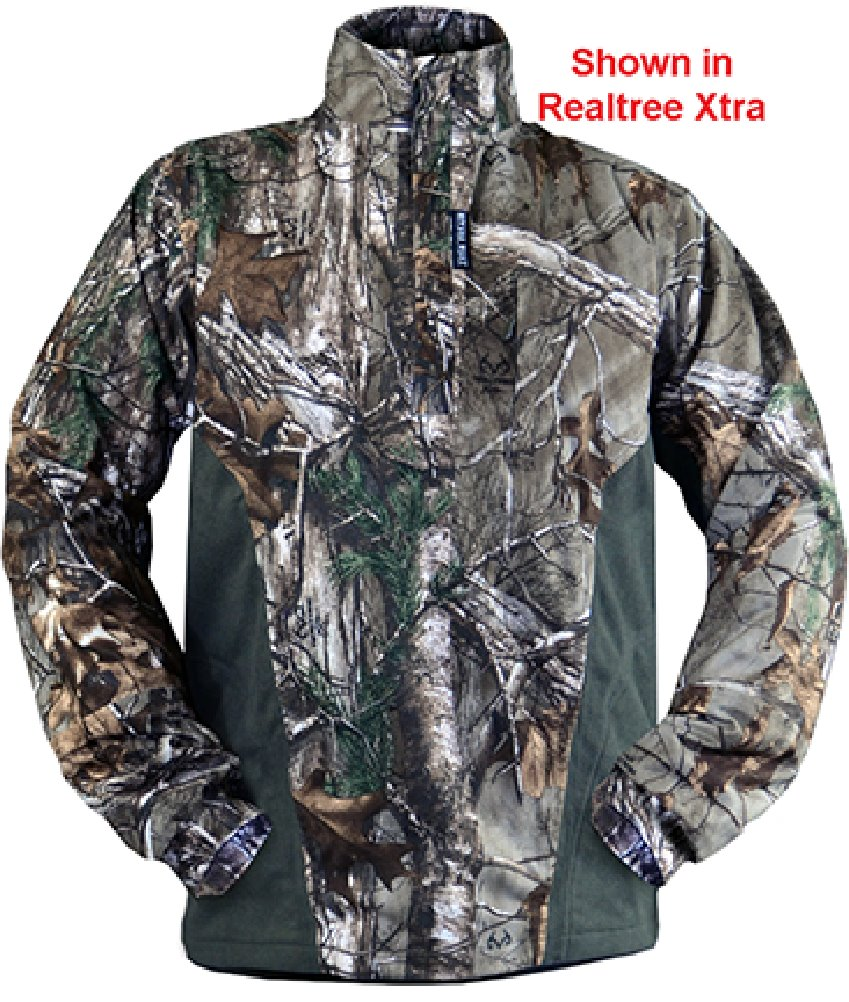 Rivers West Apparel Isolation Pullover Fleece Mossy Oak Country Medium by RIVERS WEST APPAREL INC