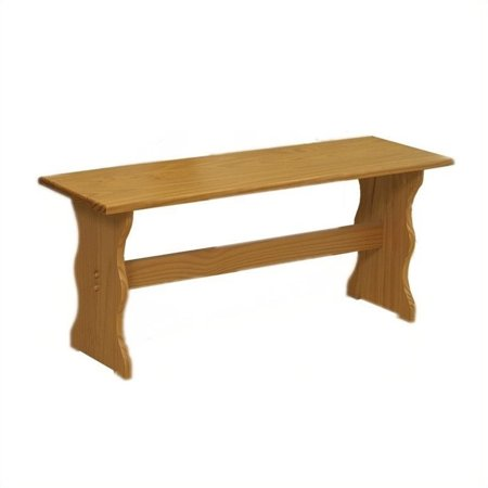 Linon Solid Pine Bench In Natural Finish 90367N2-01-KD-U