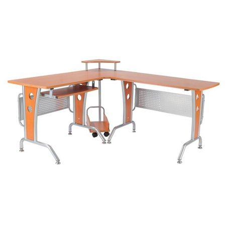 workstation com mobile laptop desk amazon standing dp homcom computer quot