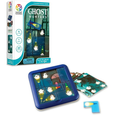 Smart Games Ghost Hunters - Guess The Ghost Halloween Game
