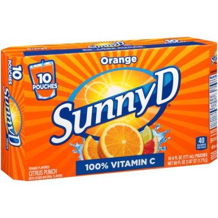 Sunny Delight Orange Citrus Punch](Grape Orange Halloween Punch)
