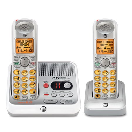 - AT&T EL52210 2 Handset Answering System with Caller ID/Call Waiting