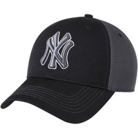 Product Image New York Yankees Fan Favorite Blackball Adjustable Hat -  Black Charcoal - OSFA 8cea7d34d