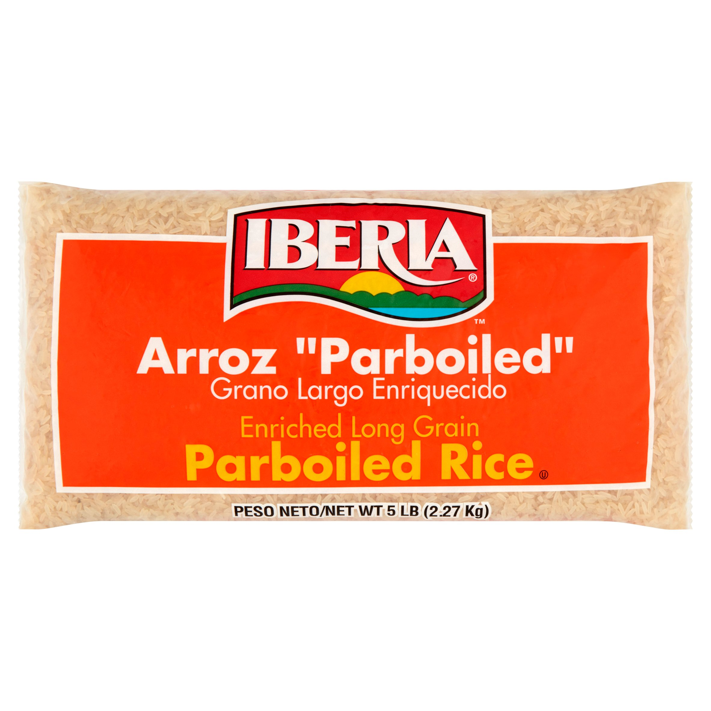 Iberia Parboiled Long Grain Rice, 5 lb by Iberia World Foods Corp.