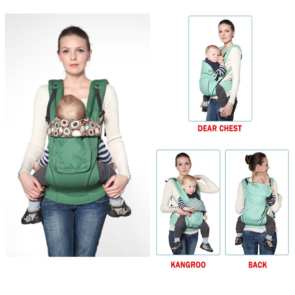 Baby Carrier Infant Carrier Backpack Kid Carriage Toddler Sling Wrap Baby Suspenders by VirtualStoreUSA.com