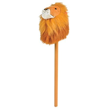Plush Circus Tamer Costume Accessory Brown Broomstick Hobby Horse Lion](Female Lion Tamer)