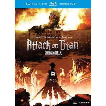 Attack On Titan  Part One  Japanese   Blu Ray   Dvd