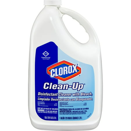 Clorox Clean-Up Disinfectant Cleaner with Bleach, Fresh, 128 oz Refill (Disinfectant Pine Action Cleaner)