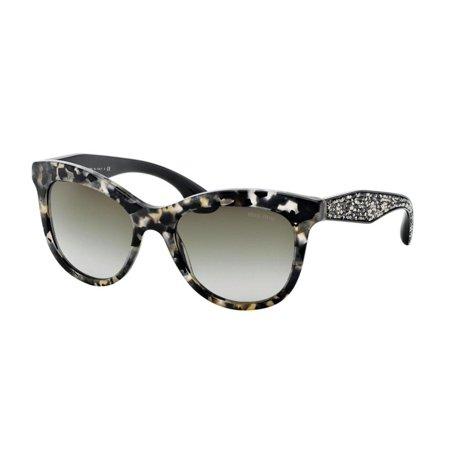 4495f91d413 Miu Miu - Sunglasses Miu MU 10 PS DHE4M1 WHITE HAVANA MARBLE ...