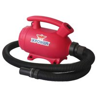 XPOWER Manufacture, Inc. XPOWER B-55 Portable Home Pet Grooming 2-in-1 Dog Force Hair Dryer & Vacuum