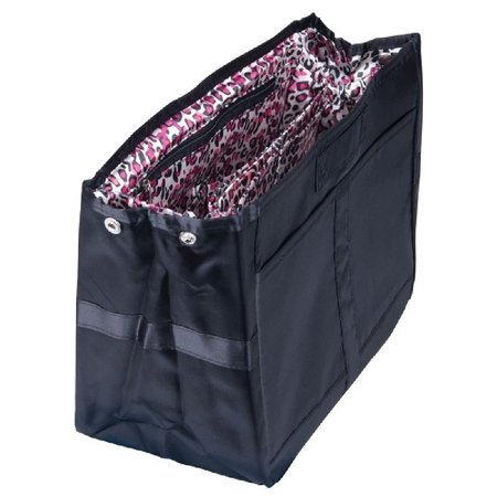 - Pursfection TOTE Organizer - Black/Pink Leopard
