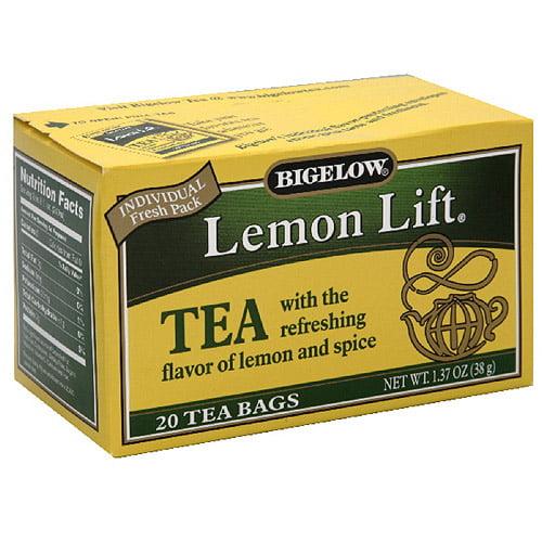 Bigelow Lemon Lift Tea, 20ct (Pack of 6) by Generic