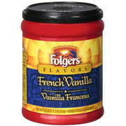 Folgers French Vanilla Ground Coffee, 11.5 oz