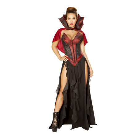3Pc Blood Lusting Vampire Costume - Cheap Vampire Costumes For Women